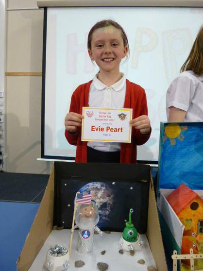 Year 4 Runner Up: Evie