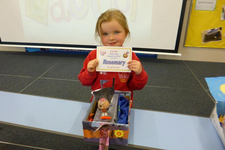 Reception Class Winner: Rosemary