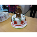 A cake for our guests - the Finchale Soldier