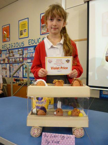 Year 5 Winner: Violet