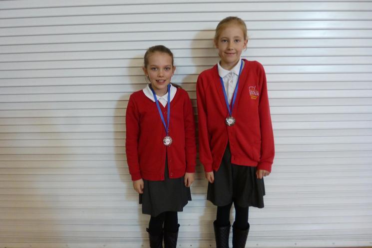 Well done Millie & Eloisa Y5