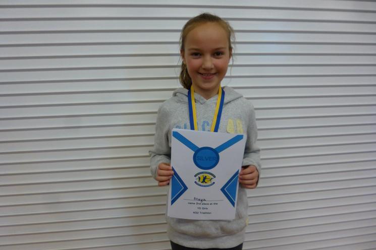 Y5 Girls Silver Medal, M