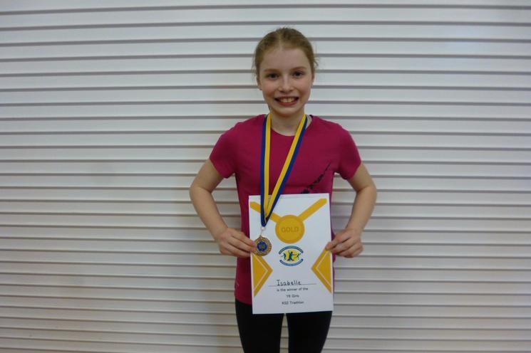 Y6 Girls Gold Medal, I