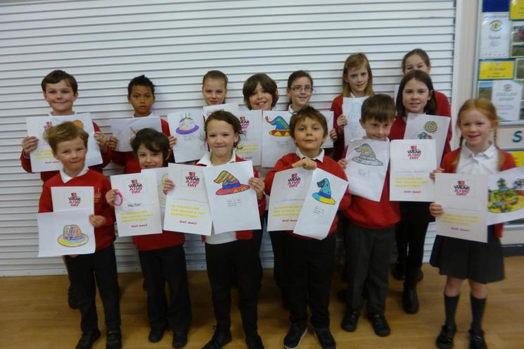 Design a Hat Competition Winners - Well Done!