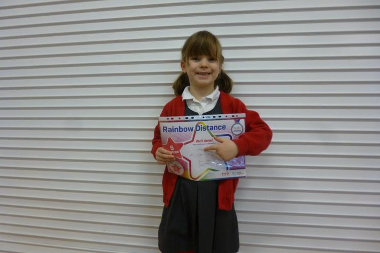 Well Done Holly Y1.