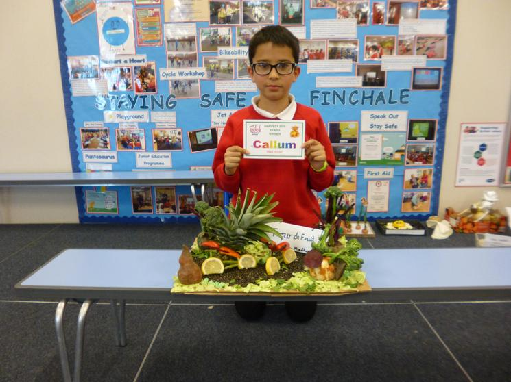 Year 5 Winner Callum