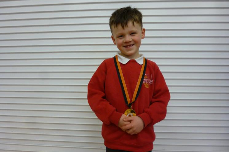 Well done Alfie in Reception Class!
