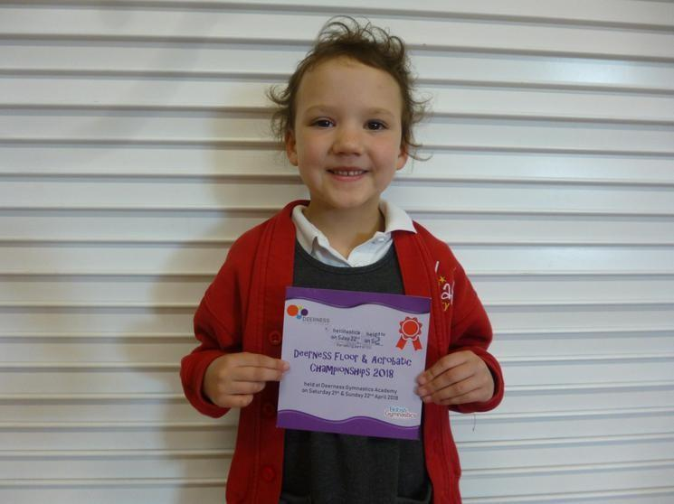 Well Done J in Reception