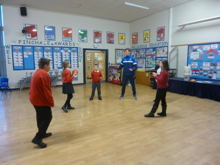 Exercise is fun at Change 4 Life Club