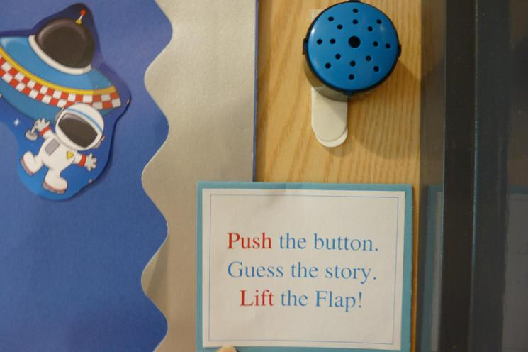 Blue Interactive Button