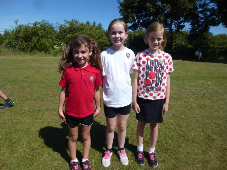 Year 4 Girls - Winners