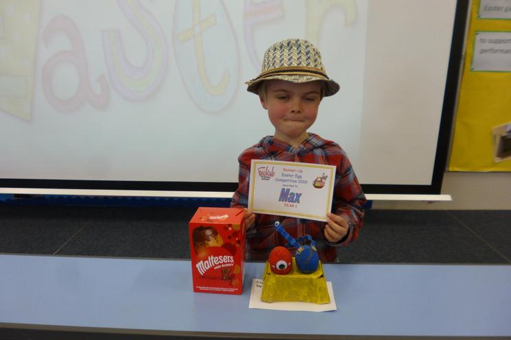 Year 1 Runner-Up: Max