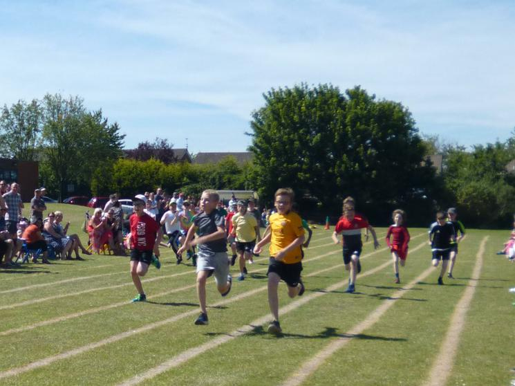 Year 6 Boys - Race