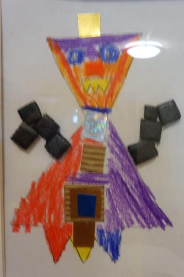 Y1 - We made collages from a variety of materials.