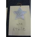 une étoile - a star