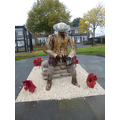 Please visit the Finchale Soldier in our garden