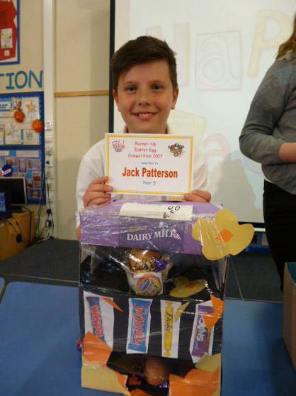 Year 5 Runner Up: Jack
