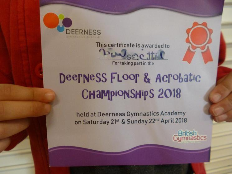 Deerness Floor and Acrobatic Championship