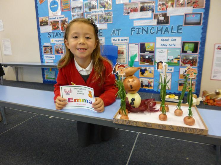 Year 2 Winner - Emma