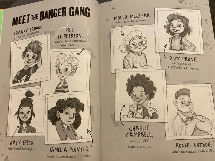 Character in 'The Danger Gang'