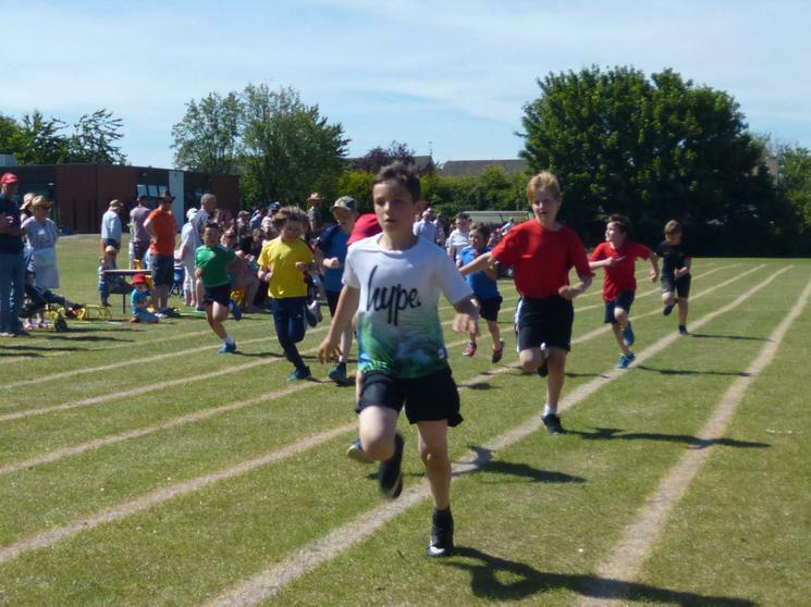 Year 5 Boys - Race