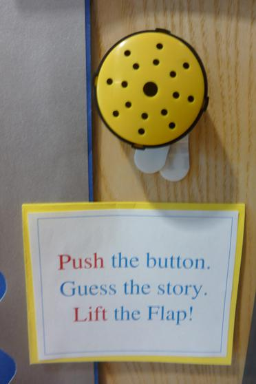 Yellow Interactive Button