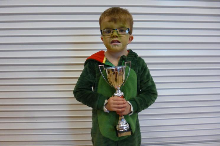Well Done Max in Reception Class.