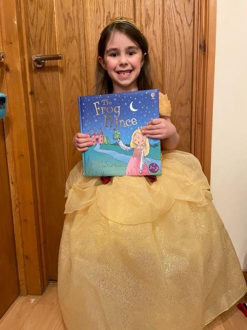 Isabelle's favourite book is The Frog Prince