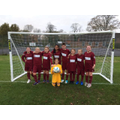 Our amazing girls' football team