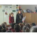 Achievement assembly