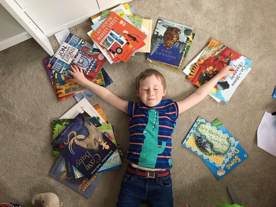 We all LOVE books!