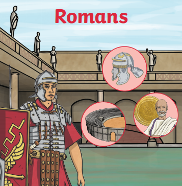 In the second half of the Autumn term we will be learning about the Roman Era.