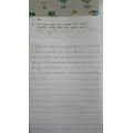 Ivon's fantastic writing! Wow!