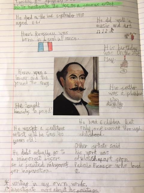 Rousseau Fact file