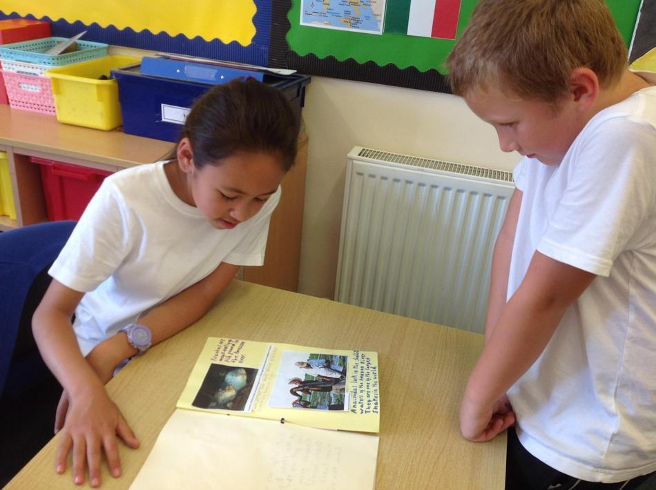 It was very exciting sharing project work with Ash Class.