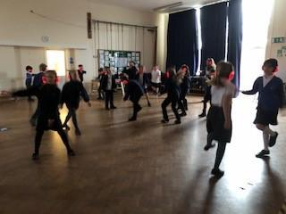 We all enjoyed letting our hair down and trying out new dance moves!