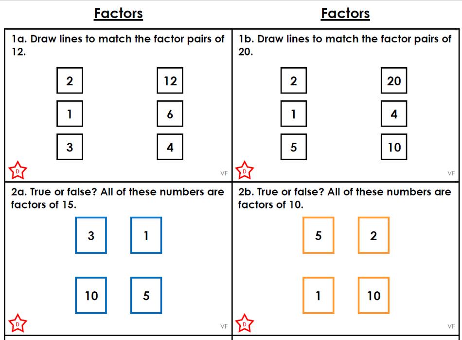 Factors - Beginner Challenge