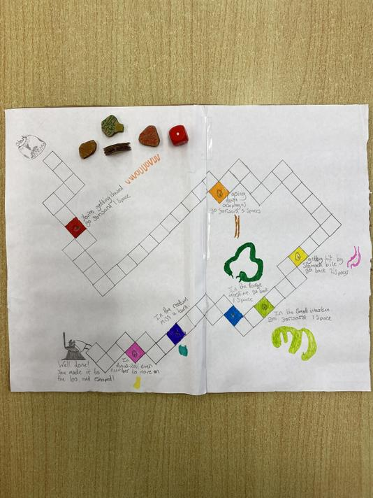 Sam made a game to show his learning and test people about their knowledge