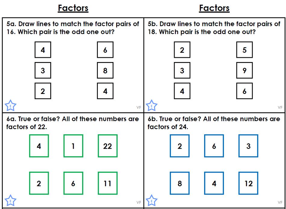 Factors - Competent Challenge