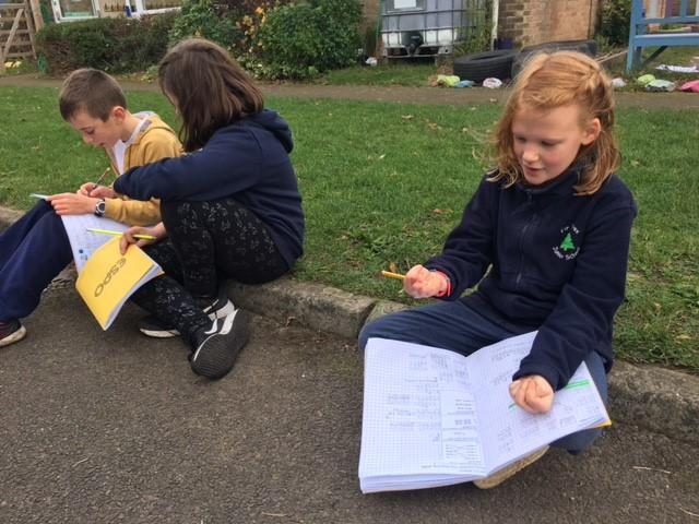 PE/Maths - Counting up in 5s