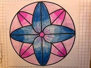 use of shapes such as circles, diamonds, squares and traingles