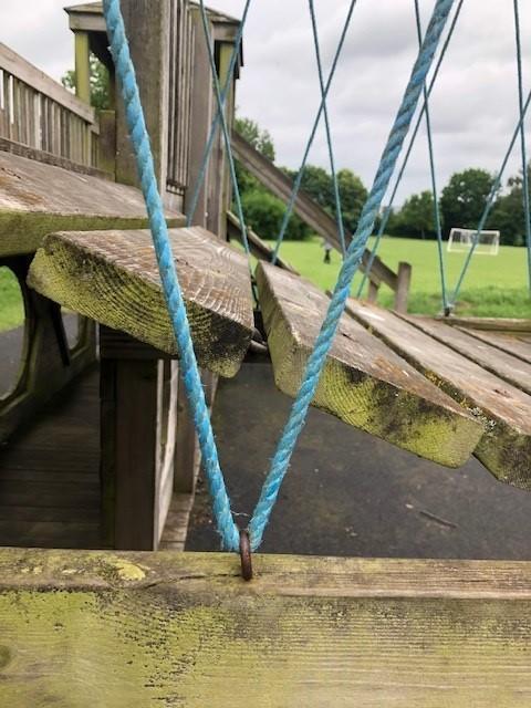 more playground equipment,
