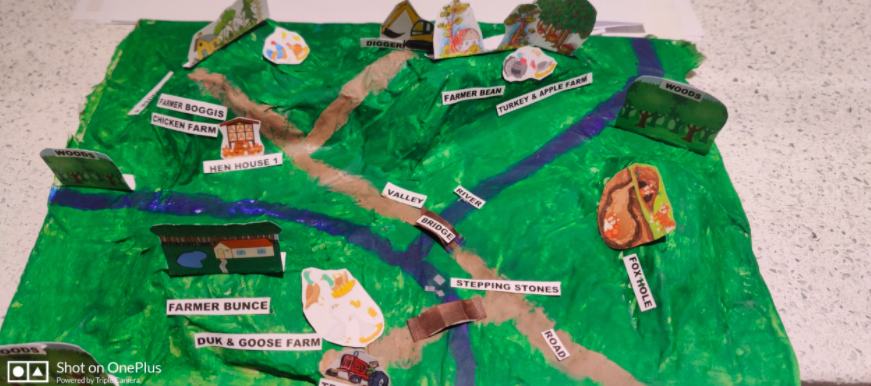 Jess's 3D map shows all the elements from the introduction
