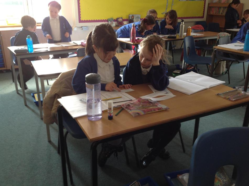 Looking at the language to help order the text