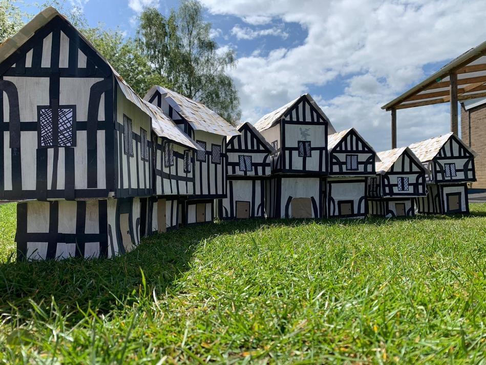 What an impressive Tudor street!