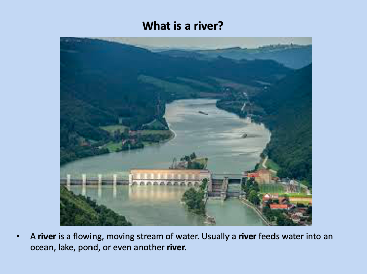Leila's powerpoint about rivers