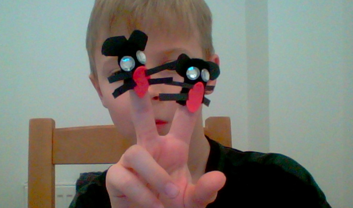 and finger puppets