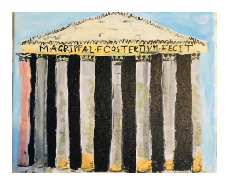 Painting - The Pantheon, Rome