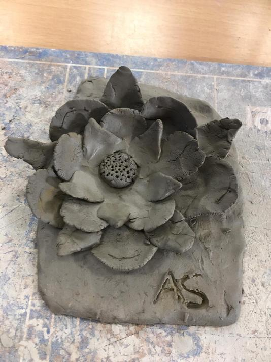 Challenging ourselves to create a 3D rose