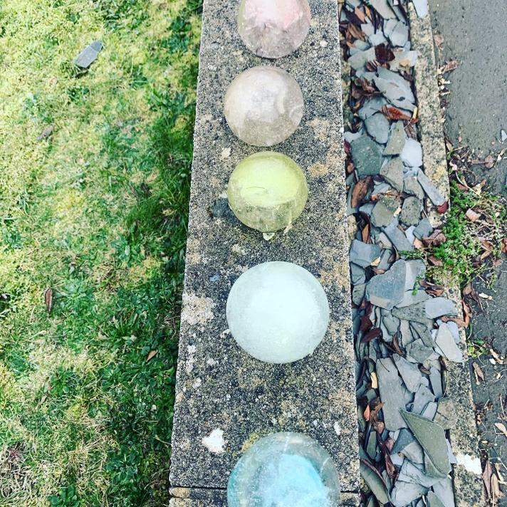 These orbs have lasted many days in this icy blast!